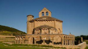 Église de Santa Maria de Eunate.Navarre