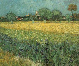 Champ de blé aux iris, 1888, Musée Van Gogh, Amsterdam