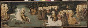 L'Enlèvement d'Europe, Liberale da Verona, Musée du Louvre, Paris